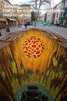 Edgar Mueller [Project] Energy How Garden Art Creates Your Personal Edgar Mueller, 3d Sidewalk Art, Sidewalk Chalk, Crystal Stemware, 3d Street Art, Stainless Steel Polish, Pet Odors, Crystal Gifts, Change Is Good