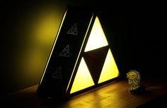 Casa Nerd: Luminária Zelda