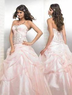 no silver, no champagne, no gold... my next wedding dress will be PINK :)