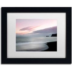 Trademark Fine Art 'Some Kind of Heaven' Canvas Art by Philippe Sainte-Laudy, White Matte, Black Frame, Size: 11 x 14, Multicolor