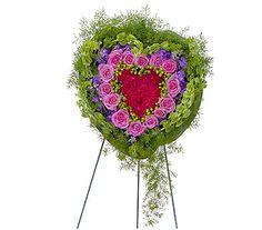 27 best funeral arrangements images on pinterest sympathy flowers forever cherished heart in bonita springs fl heaven scent flowers inc mightylinksfo