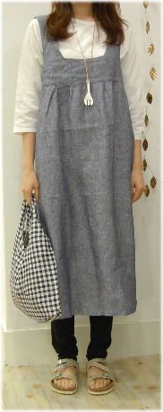 Rakuten: [SOLDOUT] fog linen apron dress [easy _ ギフ packing]- Shopping Japanese products from Japan
