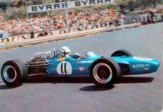1968 GP Monaco (Johnny Servoz Gavin) Matra - Ford - Marine And Land Vehicles Sports Car Racing, Sport Cars, Race Cars, Auto Racing, Motor Ford, Matra, Automobile, Race Engines, Formula 1 Car