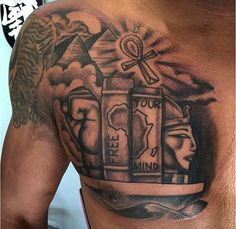 Def getting something that'll compliment knowledge is power wisdom is magnificent Half Sleeve Tattoo Stencils, Half Sleeve Tattoos Forearm, Forarm Tattoos, Half Sleeve Tattoos Designs, Cool Forearm Tattoos, Hand Tattoos For Guys, Full Sleeve Tattoos, African Sleeve Tattoo, Egyptian Tattoo Sleeve