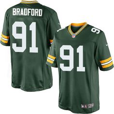 Carl #Bradford Green Bay #Packers Youth Limited Green Team Color #Jersey Nike NFL #91 Home #nfljersey #Packersjersey