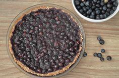 Blueberry Pie with Nut Crust (Paleo)