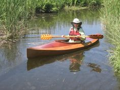 Wooden Kayak Wood Duck 10 Recreational Kayak: A Beautiful, Ultra-light Kayak You Can Build from a Kit or Plans! Oregon Coast Camping, White Water Kayak, Recreational Kayak, Small Shark, Wooden Kayak, Boat Kits, Kayak Tours, Wooden Boat Plans, Kayak Camping