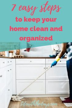 How to keep your home clean and organized Postpartum Recovery, Paper Organization, Dry Erase Markers, Dry Erase Board, Organizing Your Home, Life Is Beautiful, Clean House, Cleaning Hacks, Decluttering