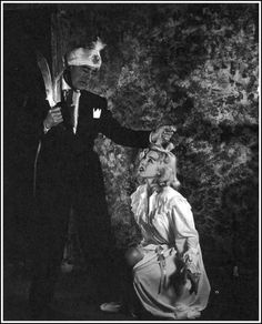 Kenne Duncan and Valda Hansen from Night of the Ghouls an Ed Wood, Jr. Ed Wood, World Movies, Screen Film, Picture Blog, Cult Following, Vintage Horror, Creature Feature, Iconic Movies, Horror Films