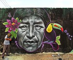 Another great portrait from @joe_nadie in #peru #globalstreetart (http://globalstreetart.com/joe-nadie)