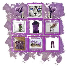"""""""Purple Gifts"""" by therusticpelican ❤ liked on Polyvore featuring rustic"""