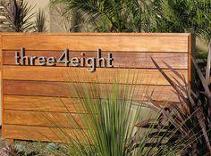 Modern House Number Ideas Home Design Ideas, Pictures, Remodel and Decor Modern Landscape Design, Modern Landscaping, Front Yard Landscaping, Landscaping Ideas, Mid Century Landscaping, Landscaping Melbourne, Desert Landscape, Landscaping Software, Contemporary Landscape
