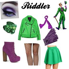 """Riddler Chic"" by cloz333 on Polyvore"