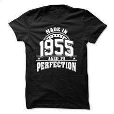 Made In 1955 - Aged To Perfection - #shirt prints #tshirt couple. SIMILAR ITEMS => https://www.sunfrog.com/LifeStyle/Made-In-1955--Aged-To-Perfection-4825681-Guys.html?68278