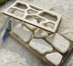 Mold making for 'crete/tufa