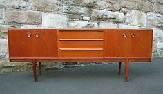 Original-Mcintosh-Vintage-Teak-Sideboard-Buffet-Mid-Century-modernist-1960s
