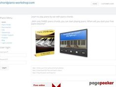"Product Name: ""Free video: Learn how to play piano with chords."" 