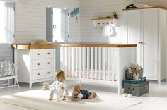 Unique White And Wood Nursery Furniture Photos - - Rustic Nursery Furniture, Nursery Furniture Collections, Wood Nursery, Dark Furniture, Nursery Room, Wooden Furniture, Furniture Design, Baby Room, Nursery Decor
