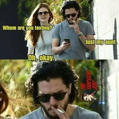 You know nothing, Ygritte.