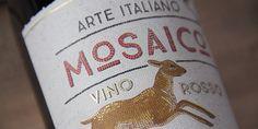 wine label mosaic - Google Search