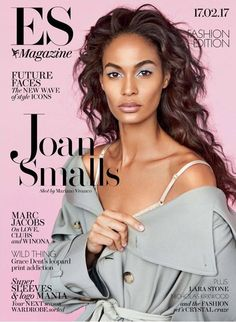 Joan Smalls Stuns for ES Magazine February 2017 Cover Story