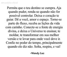 Words, Inspiration Quotes, Bom Dia, Texts, Thoughts, Stuff Stuff, Destiny, Psalms