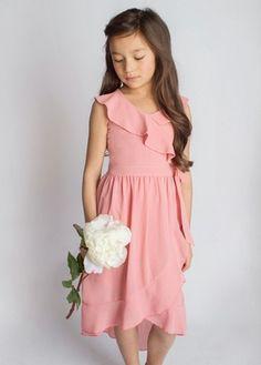 Joyfolie Carly Dress Coral