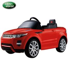 Kids Ride On - 6V Licensed Range Rover Evoque (Red). New in and available to buy now for £204.99. Free UK mainland delivery.
