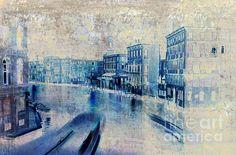 Venice Grand Canal art print http://fineartamerica.com/featured/venice-canal-grande-frank-tschakert.html