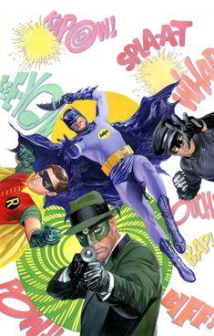 Batman '66 Meets The Green Hornet #1 by Alex Ross