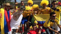 Veja as melhores fotos da partida entre Colômbia e Grécia - 2 (© Camila Mattoso ESPN.com.br)