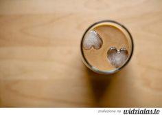 mrożona kawa z sercem