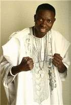 """Comedian Michael Blackson, """"The African King of Comedy,"""" appears at the Off the Hook Comedy Club on Marco Island Thursday-Sunday."""