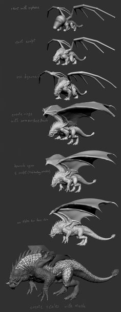 Dragon Breakdown.