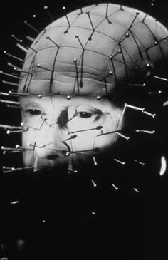 """Doug Bradley as the cenobite Pinhead in ''Hellraiser"""", 1987, directed by Clive Barker! ♥"""