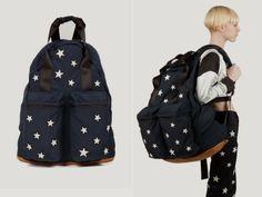 Adam Selman Oversized Stars Backpack