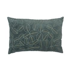 Food, Home, Clothing & General Merchandise available online! Scatter Cushions, Throw Pillows, Embroidered Leaves, Leaf Design, Pure Products, Home Decor, Toss Pillows, Decoration Home, Small Cushions