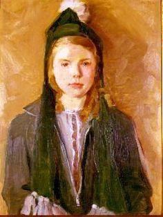 Portrait of Sally Chambliss (1936), Fra Dana