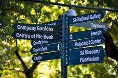 A sign in the Company's Garden, Cape Town. Photo by Jacques Marais Media Stuff To Do, Things To Do, Tourist Info, My Land, Walkabout, Garden Signs, Places Of Interest, Cape Town, Places To Eat