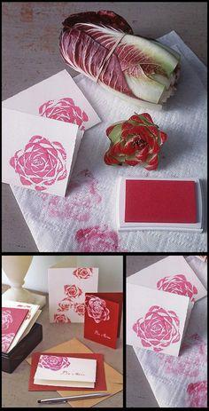 Pečiatka s ružovým vzorom - Dobré rady a nápady