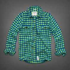 Mens Lake Harris Flannel Shirt | Mens Shirts | Abercrombie.com