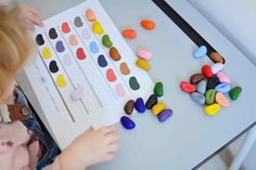 _kamyczki_ladnebebe3 copy Montessori, Triangle, Activities, Ideas, Thoughts