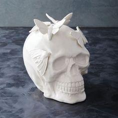 Skull + Moths Object - ELLEDecor.com