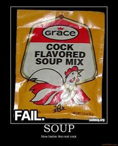 Motivational Posters Funny Fail | Facebook comments for soup cock funny fail pordy packaging