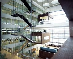 Nykredit's Headquarters - Picture gallery #architecture #interiordesign #staircases #glass #HQ