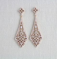 Hey, I found this really awesome Etsy listing at https://www.etsy.com/listing/258777151/rose-gold-art-deco-earrings-rose-gold