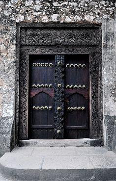 Doors in Zanzibar, Tanzania