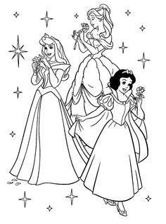 kids pictures to color printable | Coloring Pages For Kids: Printable Coloring Pages Of Disney Princesses ...