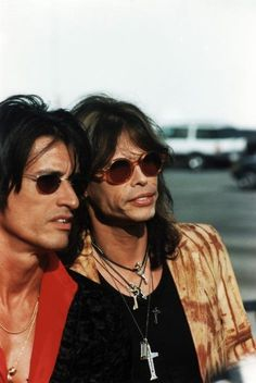 Steven Tyler & Joe Perry