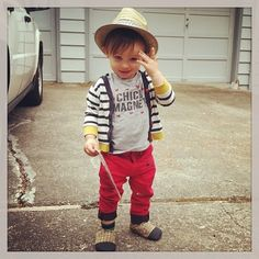 But if you haven't had enough, there's Children With Swag , | 16 Sartorially Sophisticated Children